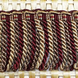 Florentia Bullion Fringe - 92mm Choco