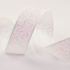 Dazzle Ribbon. 15mm. White