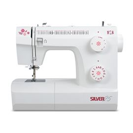 Silver 25-3 Manual Sewing Machine