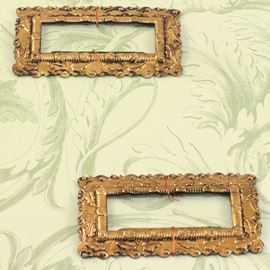 Anna Griffin Oblong Frame Brass Embellishments.