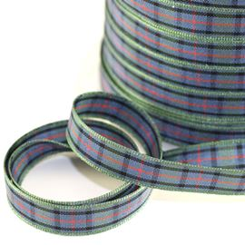 25mm Flower Of Scotland Tartan Ribbon