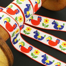 Folk Ribbon. 23mm
