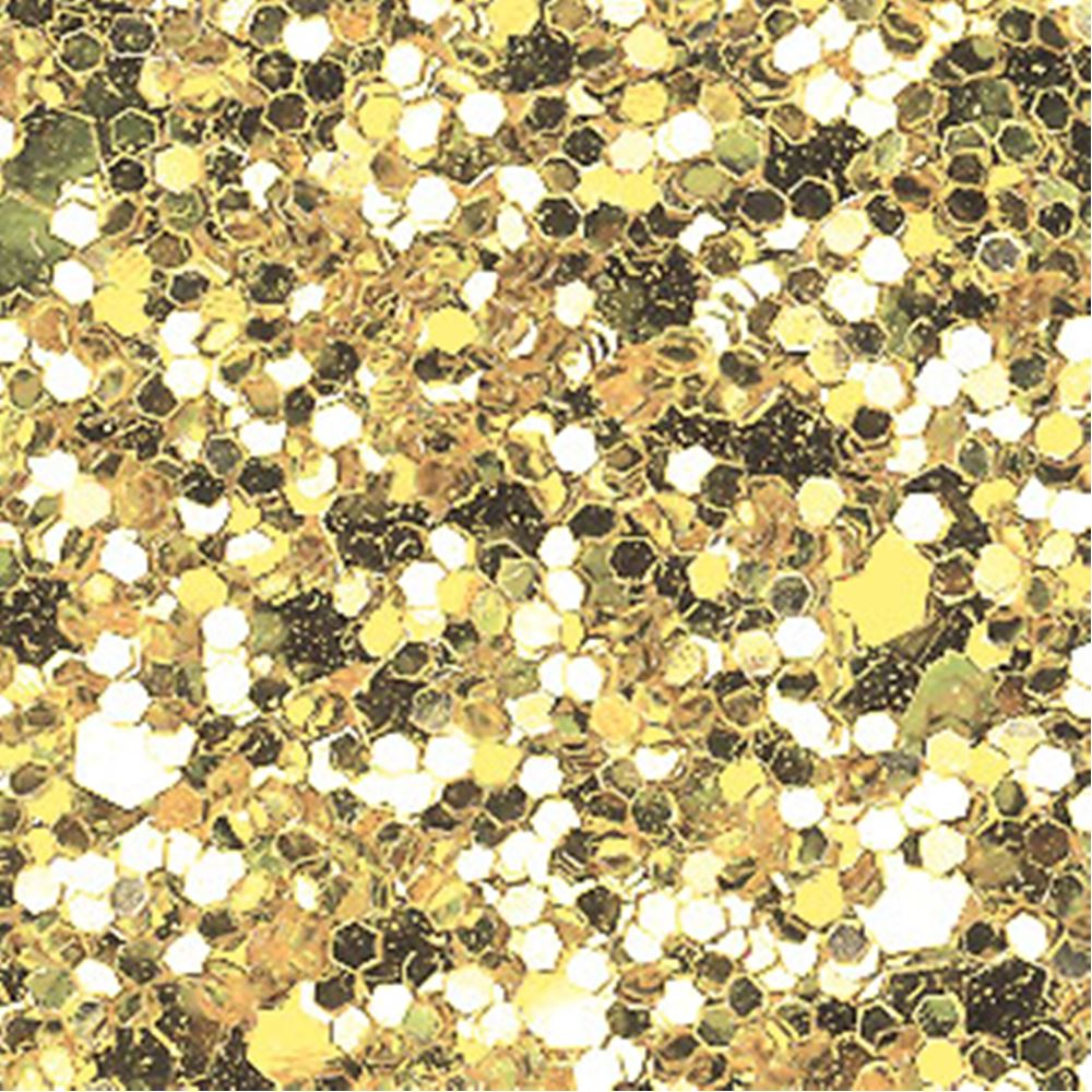Pale Gold Glitter Fabric. 1 Metre.