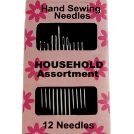 Hand Sewing Needles Pack Of 12