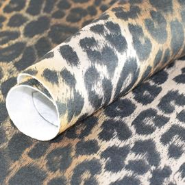 Printz Craft Felt. 9'' X 12'' - Brown Leopard