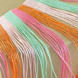 Colour Block Tassel Fringe. Hippy - 155mm