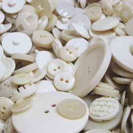 Button Mix 100g - Ivory & Cream Mix