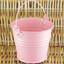 Tin Favour Pail - 2inch - Galvanised