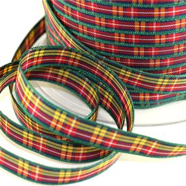 25mm Buchanan Tartan Ribbon