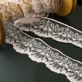 Raschel Lace Edging - White 47mm