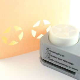 Star Embossing Paper Punch. Shooting Star.