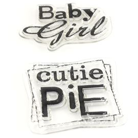 Clear Stamps - Baby Girl