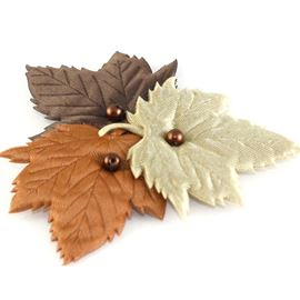 Padded Leaf Cluster - Autumn Trio