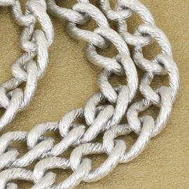 Textured Silver Chain