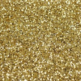 Metallic Light Gold Self Adhesive Glitter Fabric Per Metre