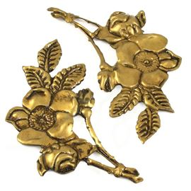 Anna Griffin Rose Brass Embellishments.