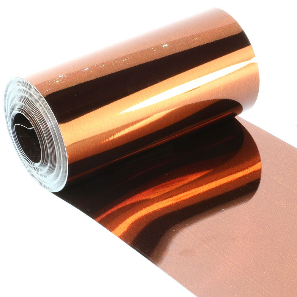 Metallic Bronze Sequin Film. 5m Roll