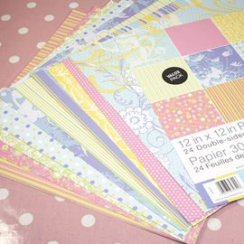 12 X 12 Patterned Paper Pack