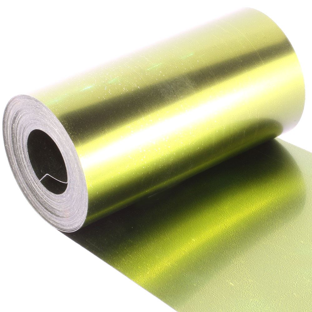 *limited Edition* Midas Green Sequin Film. 5m Roll