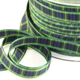 25mm Gordon Tartan Ribbon