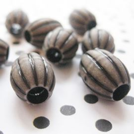 Plastic Amazon Bead - 15mm