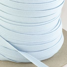 8mm Flat Elastic - Bridal White
