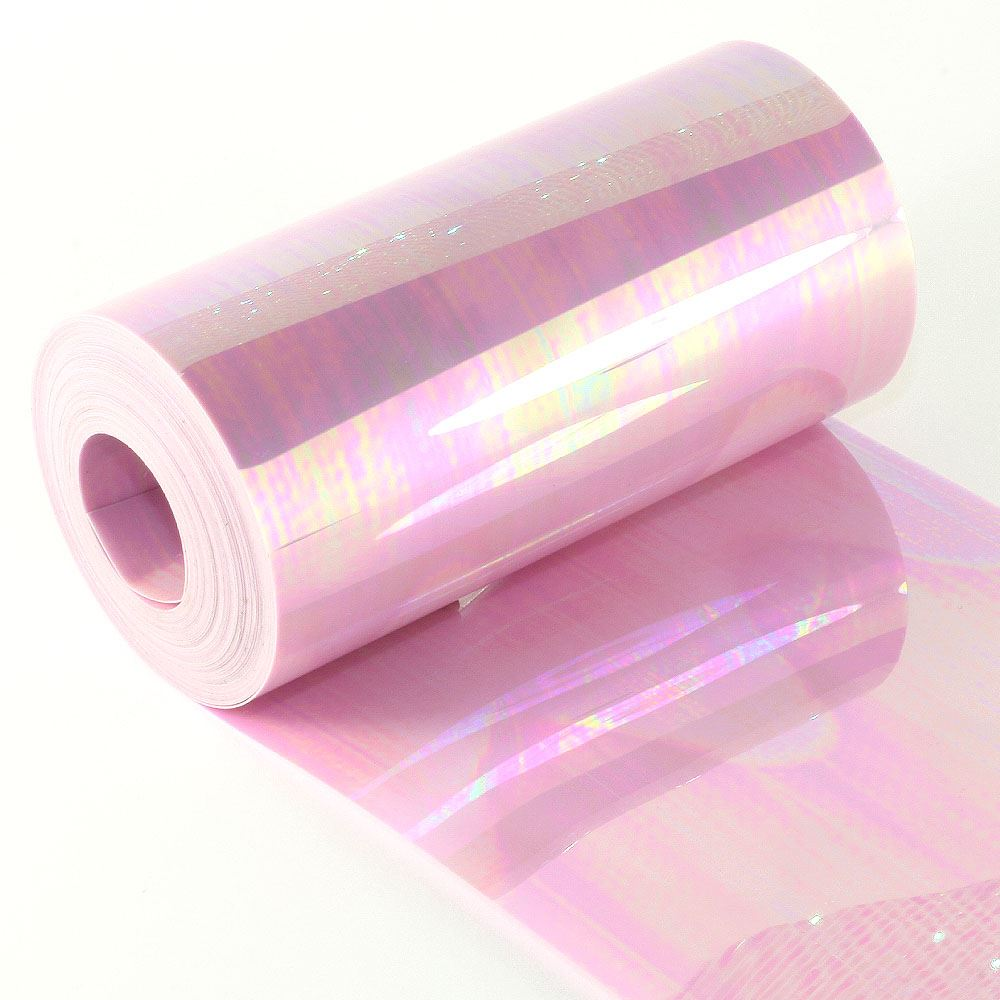 Glossy Lilac Sequin Film. 5m Roll