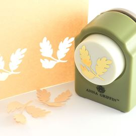 Anna Griffin Leaf Paper Punch. Leaf.