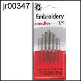 Pk Of Embroidery Needles