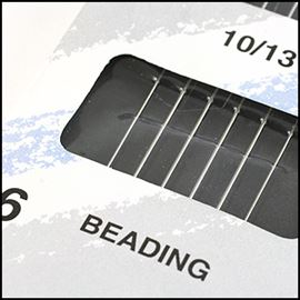 Beading Needles - Pack Of 6. 10/13