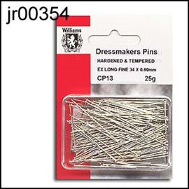 Extra Long Lace & Dressmakers Pins