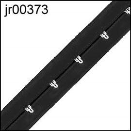 Black Hook & Eye Tape