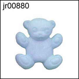 Blue Teddy Button