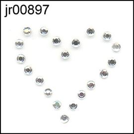 Sm Crystal Diamante Heart Motif
