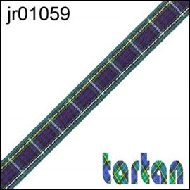 25mm Campbell Tartan Ribbon