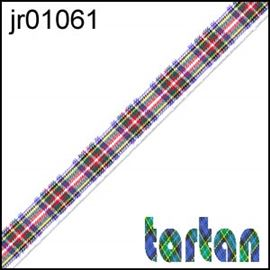 25mm Dress Stewart Tartan Ribbon