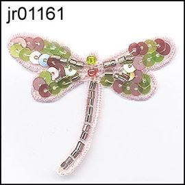 Baby Pink Sequin Dragonfly