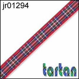 25mm Royal Stewart Tartan Ribbon
