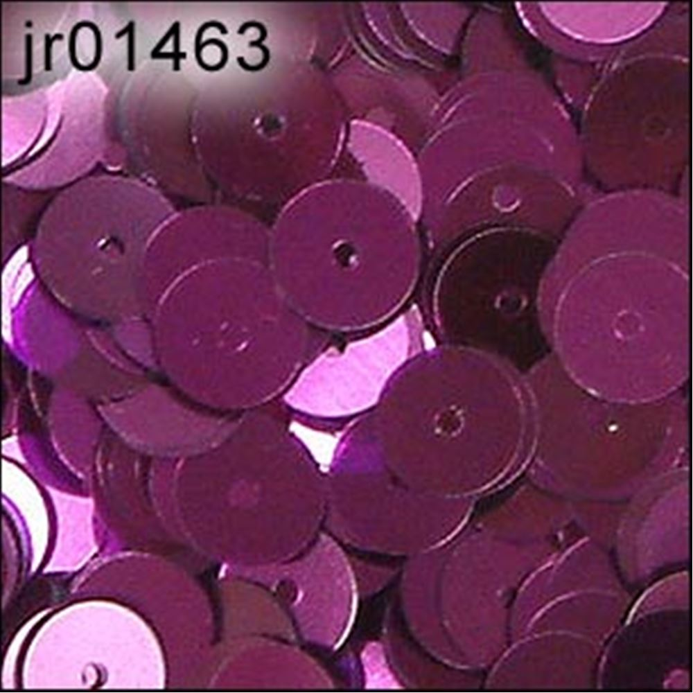 Metallic Aubergine Flat Sequins. 6mm