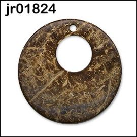 Large Coconut Shell Pendant