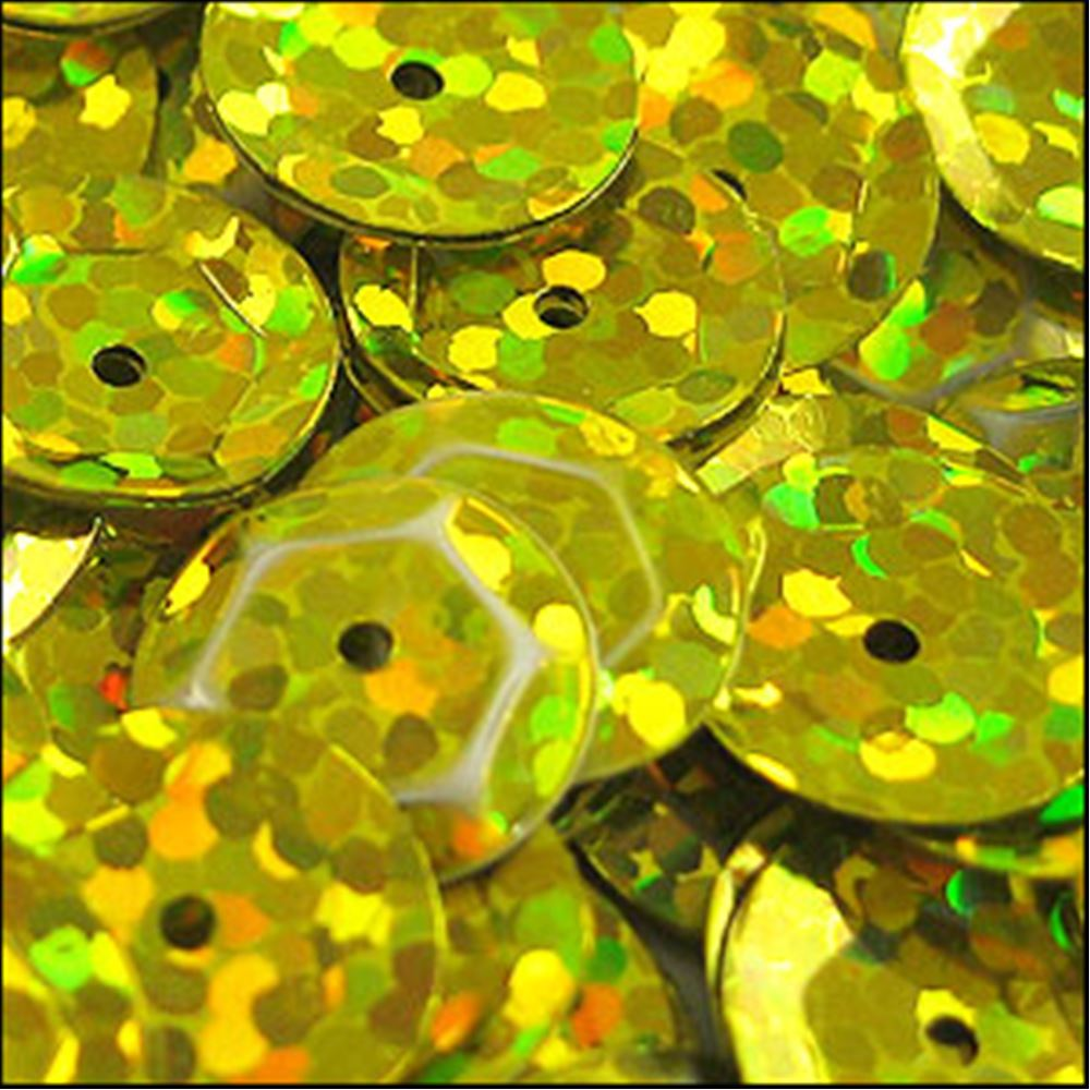 Hologram Sun-Shine Cup Sequins. 8mm