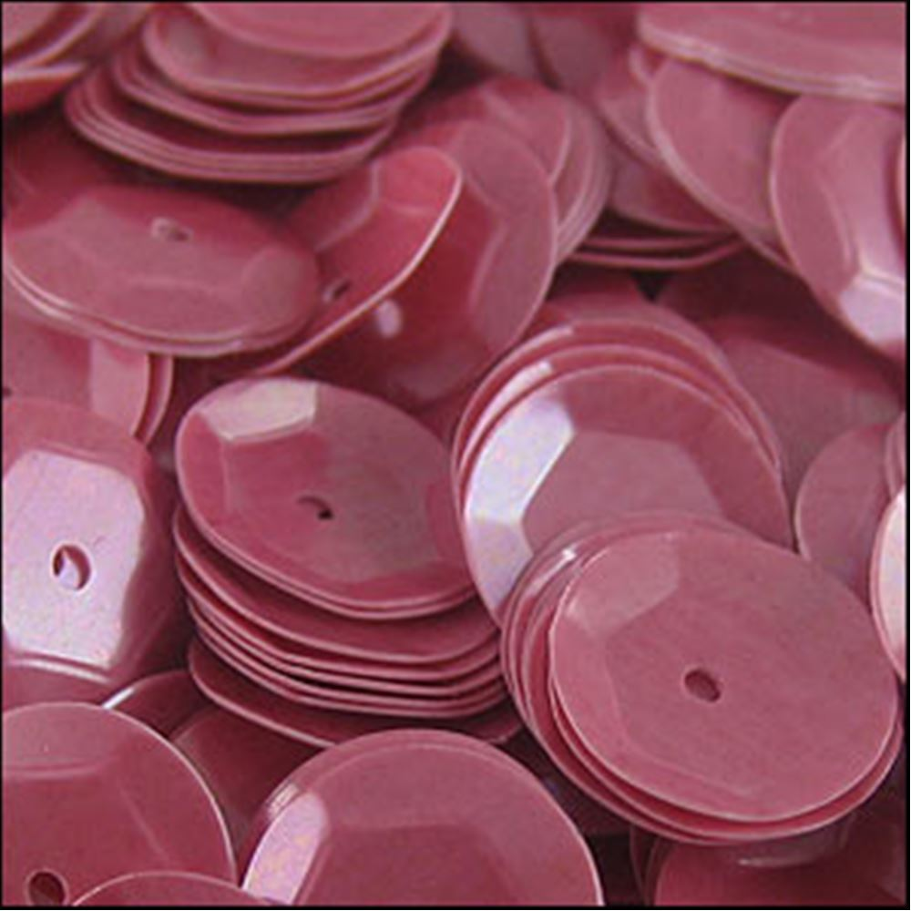 Glossy Bubblegum Pink Cup Sequins. 8mm