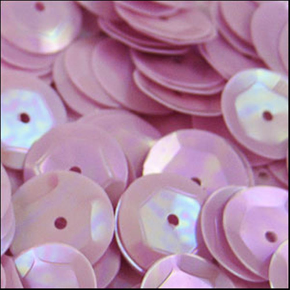 Glossy Lilac Cup Sequins. 8mm