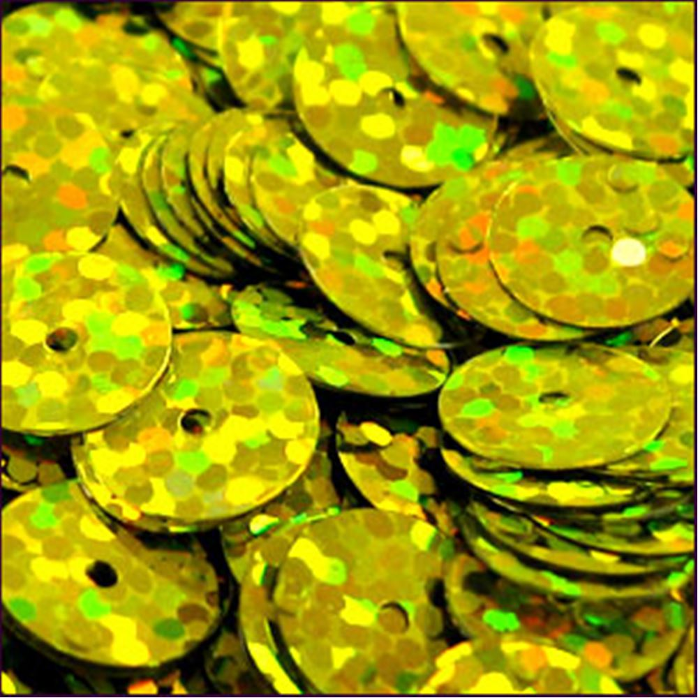 Hologram Sun-Shine Flat Sequins. 10mm