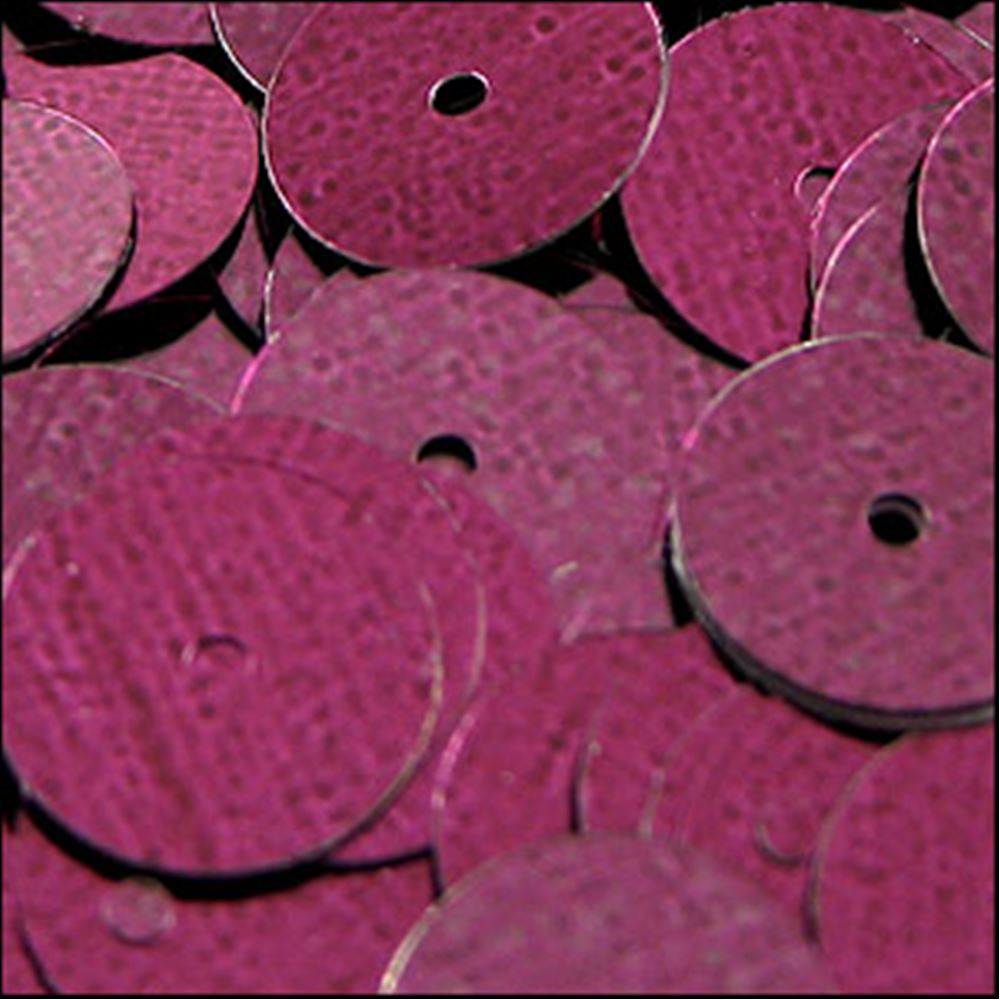 Metallic Wine Flat Sequins. 10mm