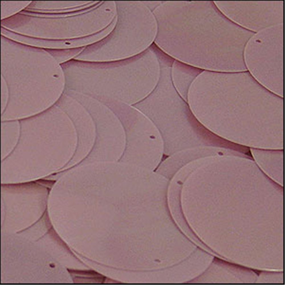 Glossy Lilac Disk Sequins. 24mm