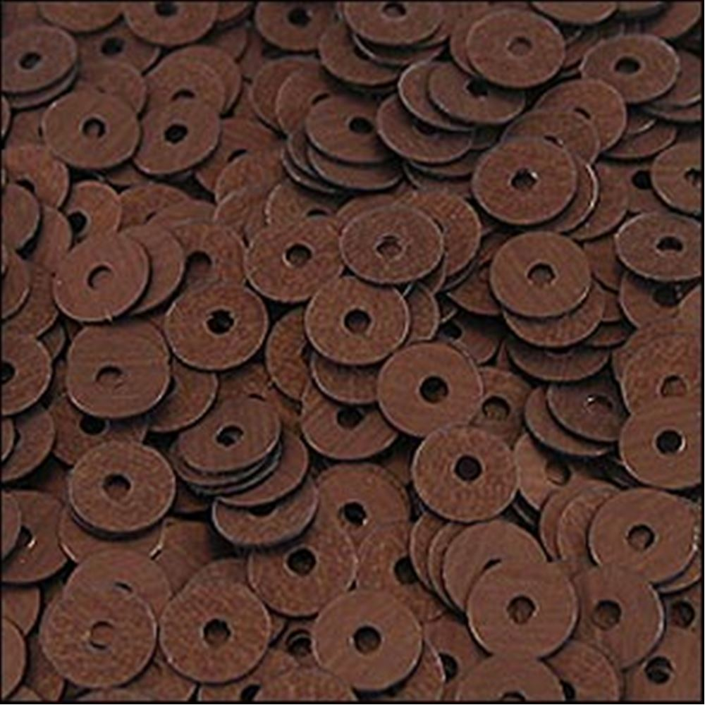Matt Bronze Flat Sequins. 5mm