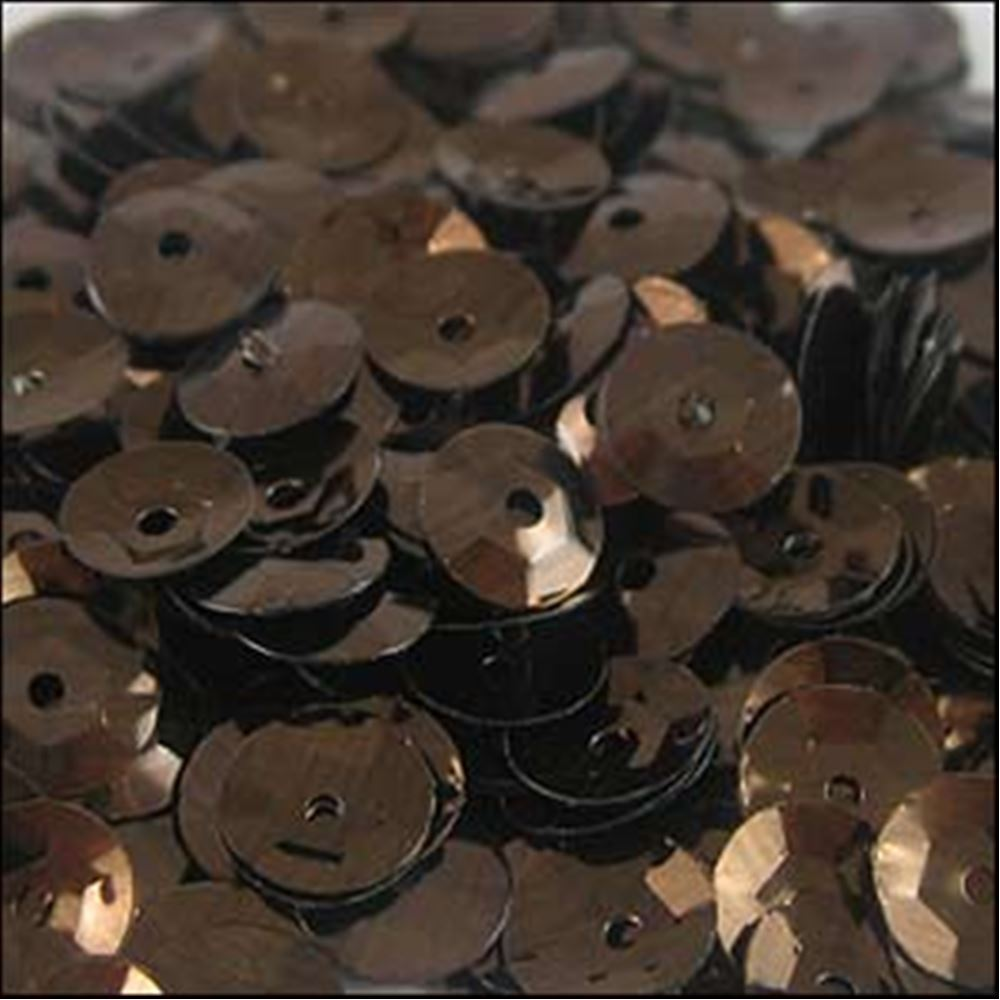 Metallic Chocolate Cup Sequins. 5mm