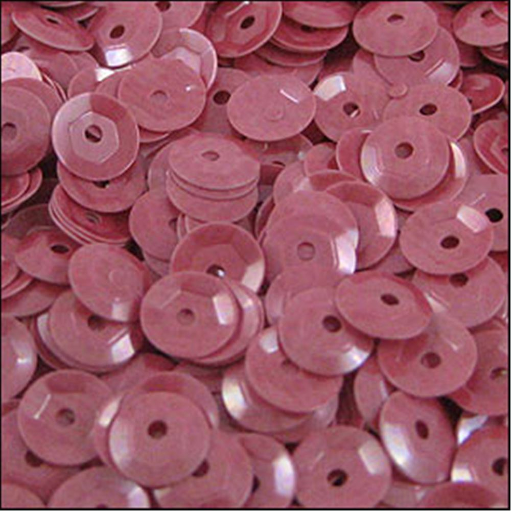 Glossy Bubblegum Pink Cup Sequins. 5mm