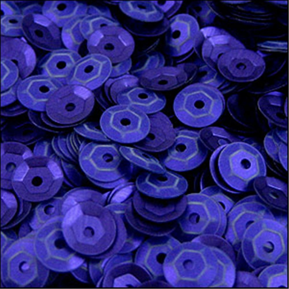 Metallic Royal Blue Cup Sequins. 5mm
